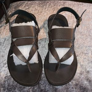 WHITE MOUNTAIN BROWN 6 1/2 M Sandals